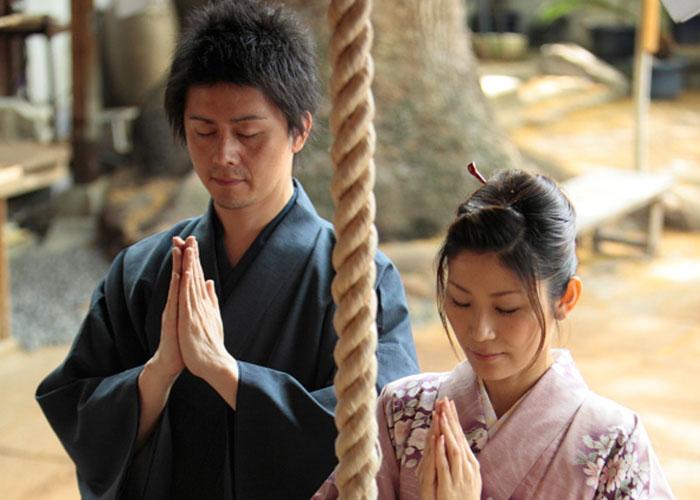 お正月は日本人らしく着物で過ごす