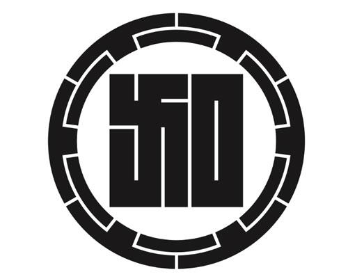 男着物の加藤商店の家紋