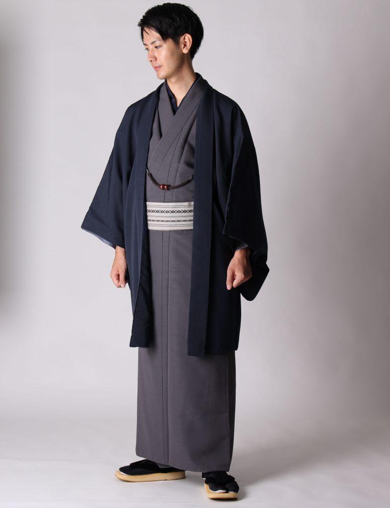 男着物と羽織のコーディネート