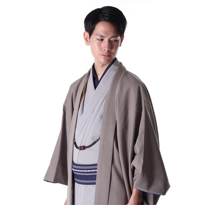 男着物と羽織りのコーディネートメンズ着物