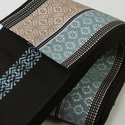 角帯 正絹 博多織物 潤 (6242)