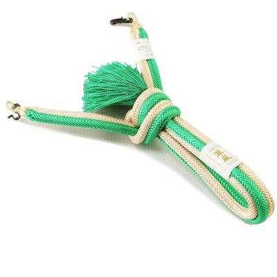 羽織紐 男 正絹 手組み紐 (6274)