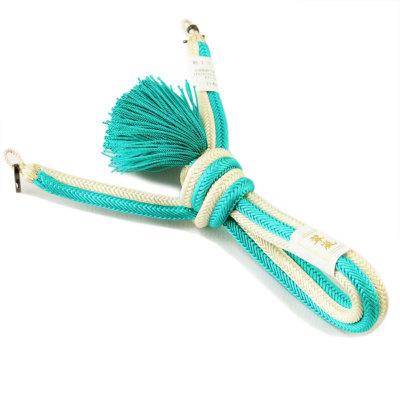 羽織紐 男 正絹 手組み紐 (6275)