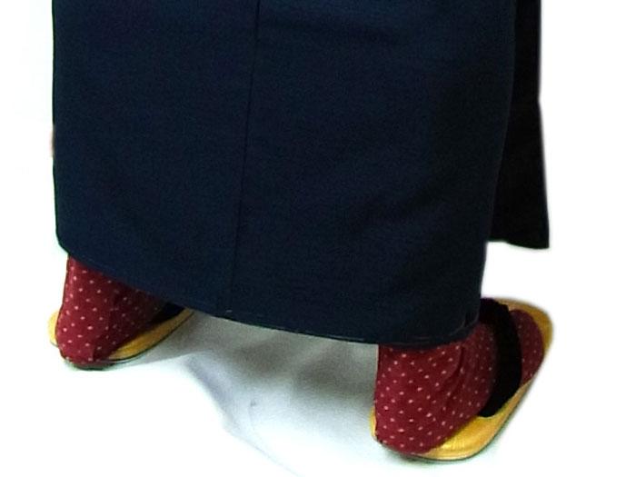 男着物の足袋