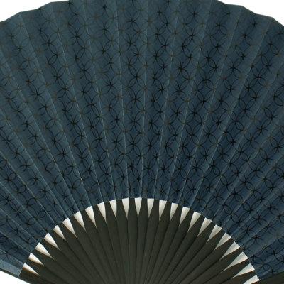 扇子 男物 宮脇賣扇庵 七宝紺 (6996)