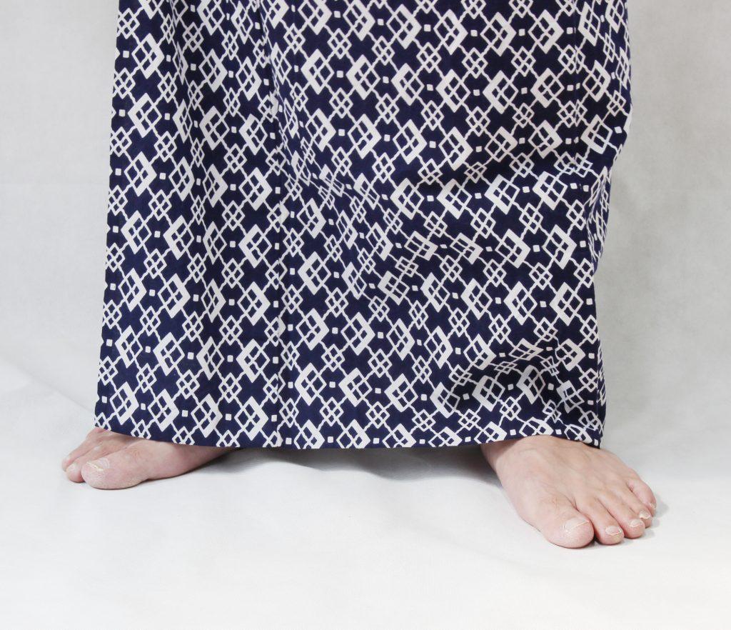 メンズ浴衣 サイズ調整
