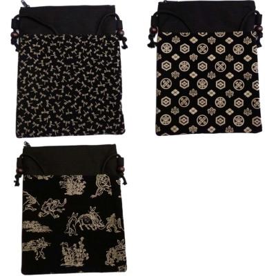 ショルダーバッグ 鞄 印伝調 日本製 (9211)