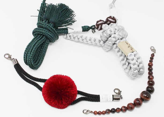 羽織り紐でコーディネートに