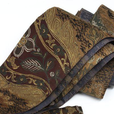 角帯 男帯 柄帯 葦手 日本製 (7264)
