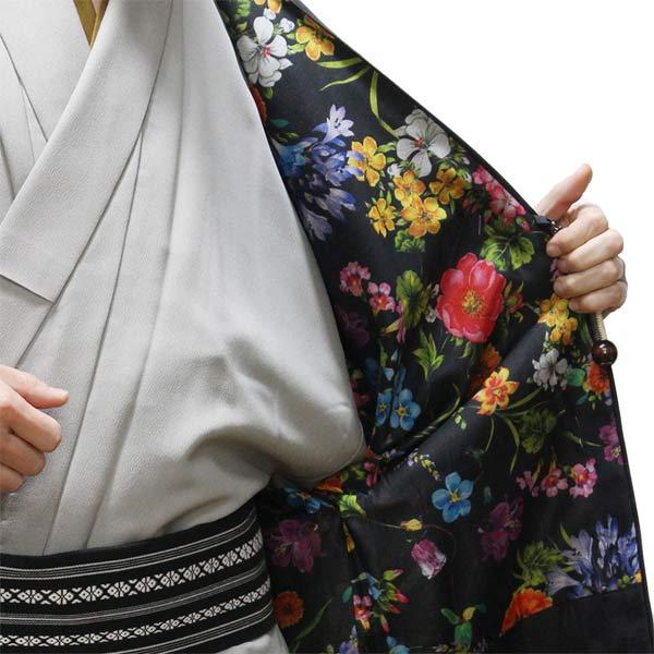 花柄の羽織