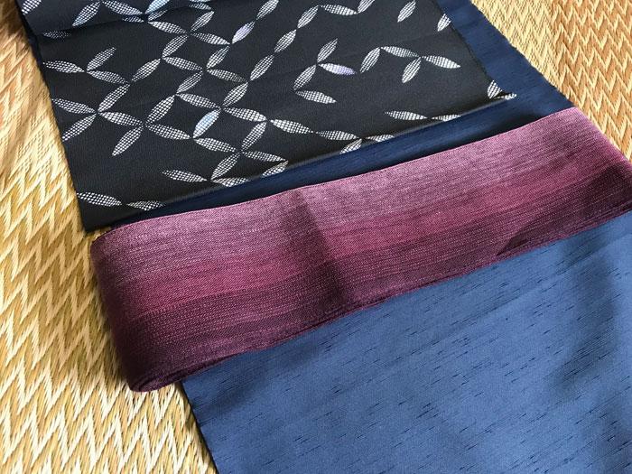 着物羽織とのコーディネート