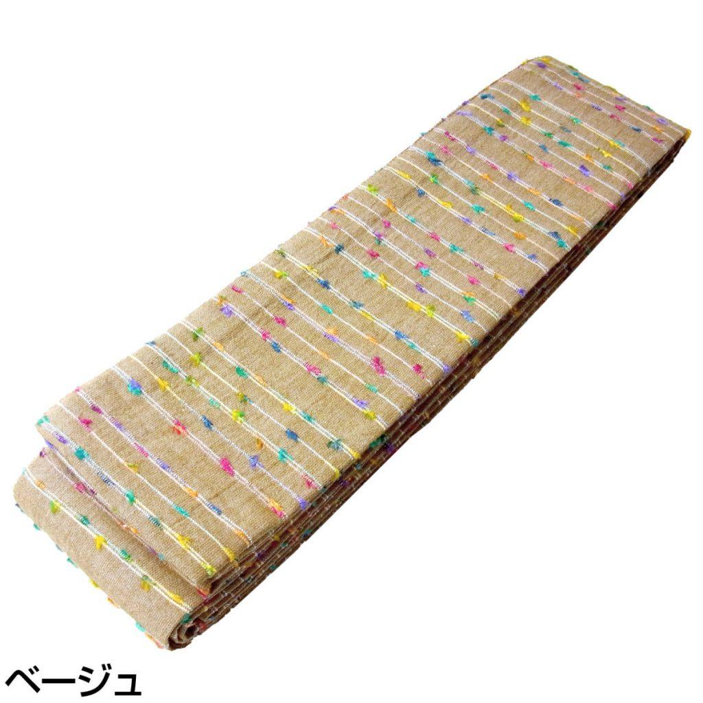 角帯 綿 多色縦段 (5338)