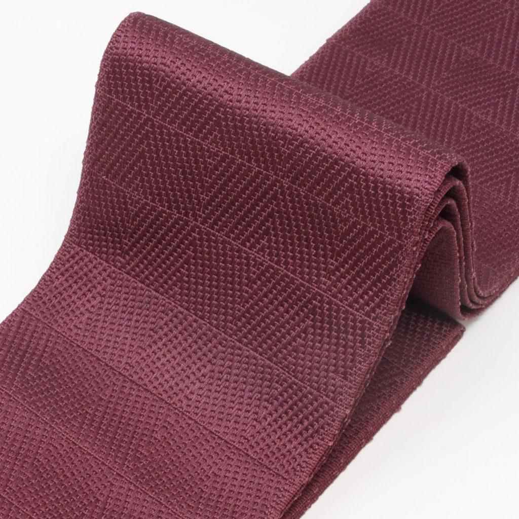 角帯 正絹 博多織物 市松(7330)
