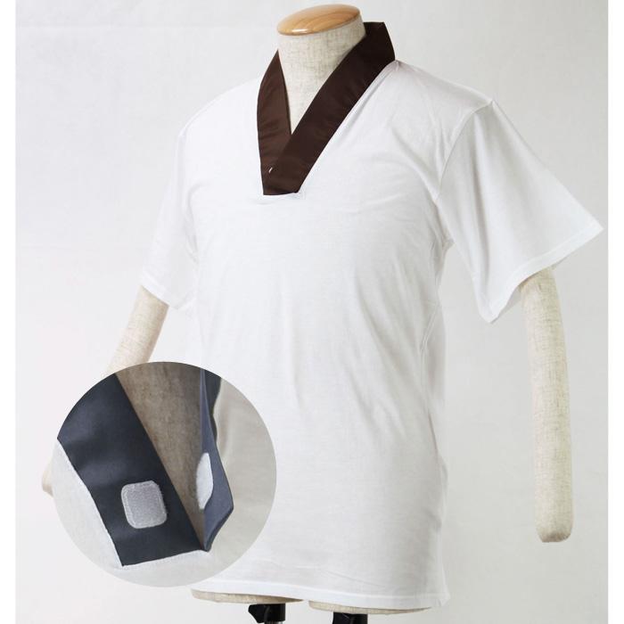 半襦袢 メンズ 洗える Tシャツ (2646)