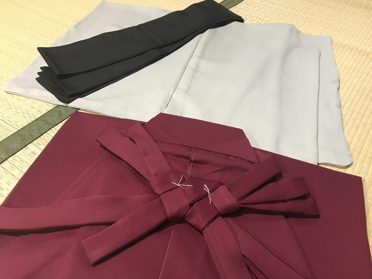 応援団の衣装(男着物と羽織)を制作