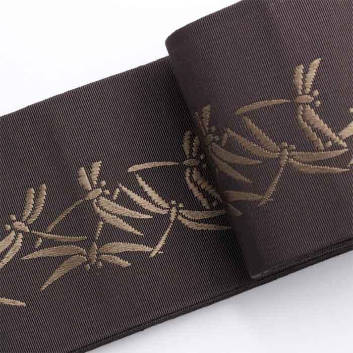 博多織角帯 秋を取り入れた着物の装い