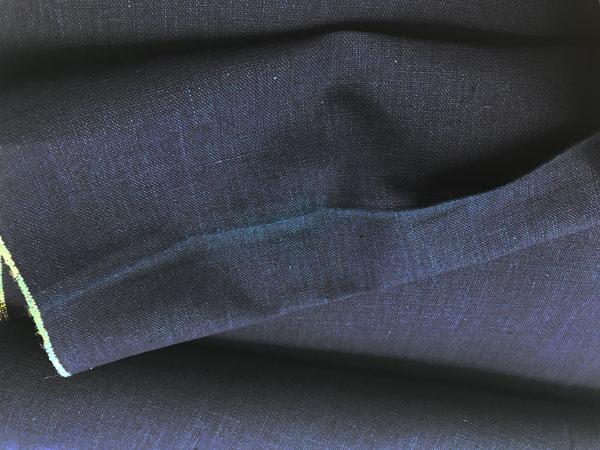 木綿の男着物