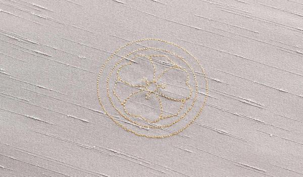 刺繍紋 薄