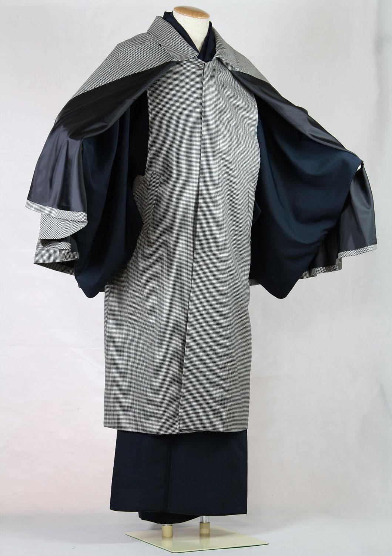 男の着物コート